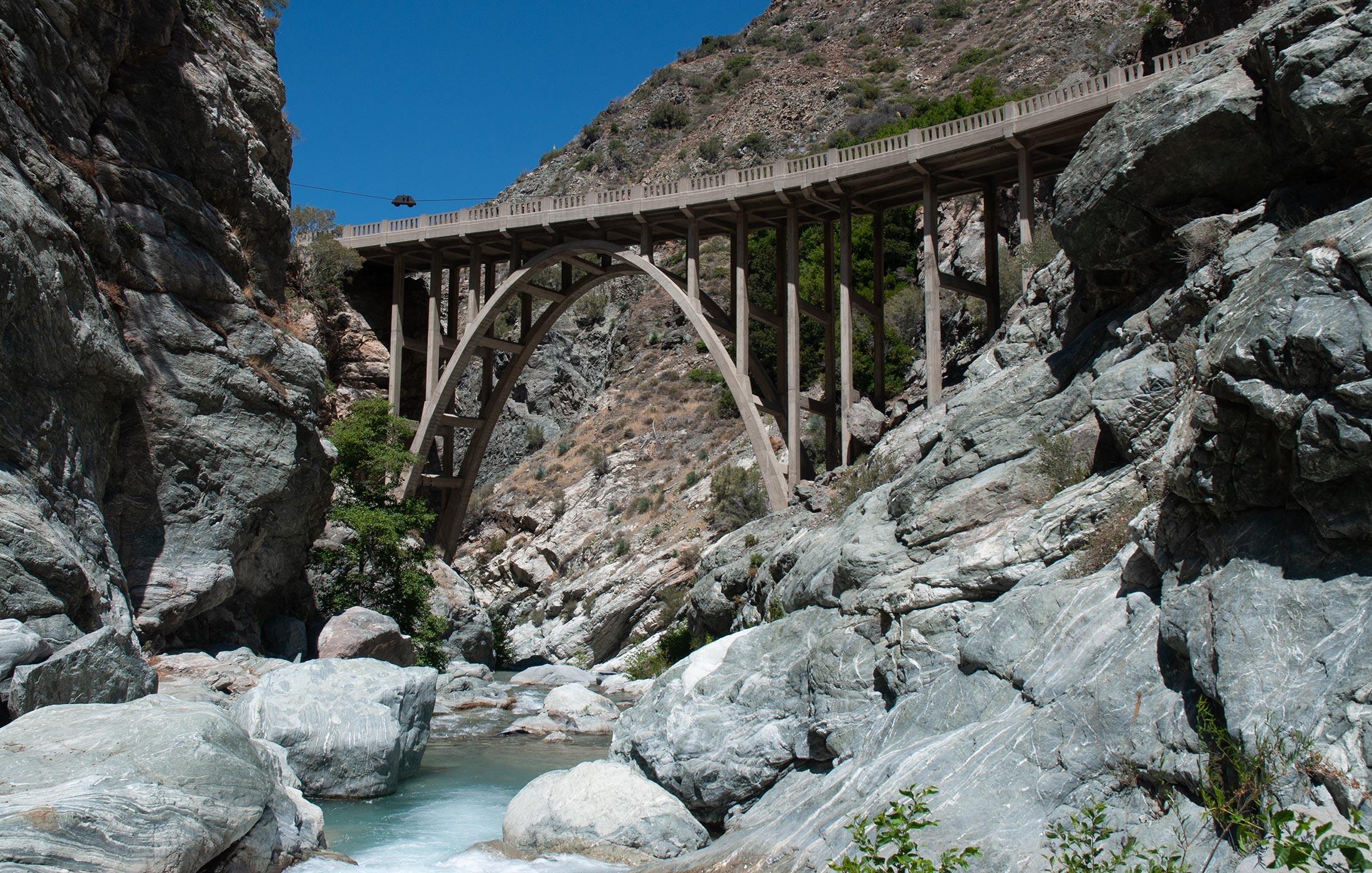 The Bridge to Nowhere   San Gabriel Canyon   SierraDescents.com